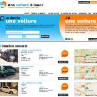 Un nouveau site web de voitures à louer entre particuliers