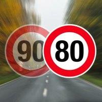 Le décret de la limitation à 80km/h a été publié au Journal Officiel