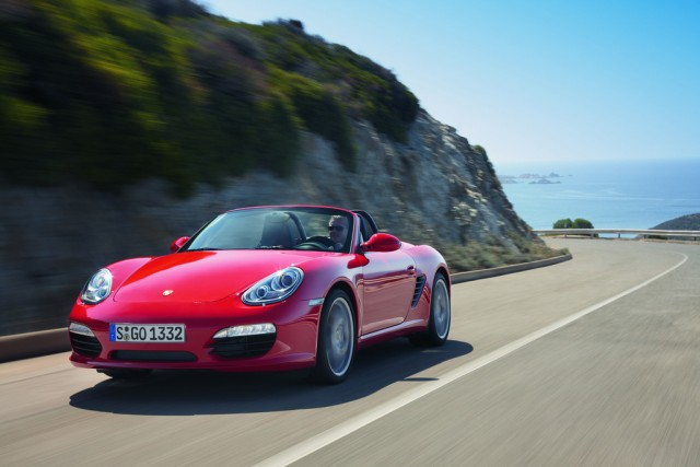 Facelifted second generation Porsche Boxster