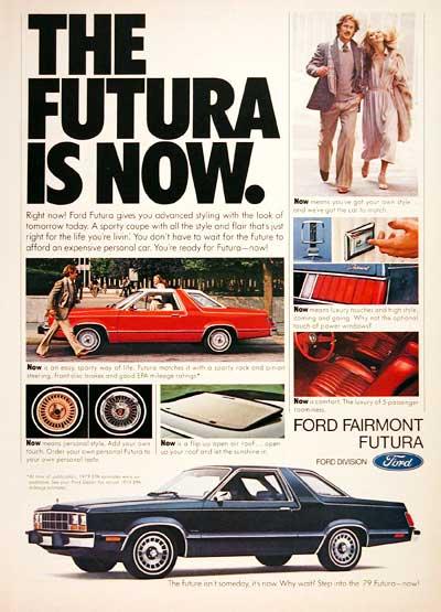 Ford Fairmont Futura ad