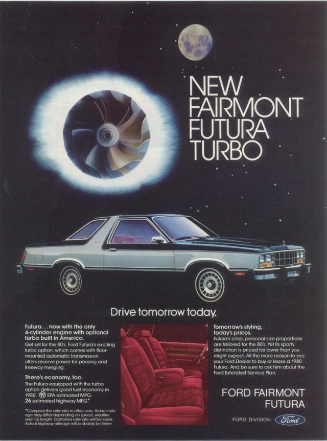Ford Fairmont Futura Turbo advertisement