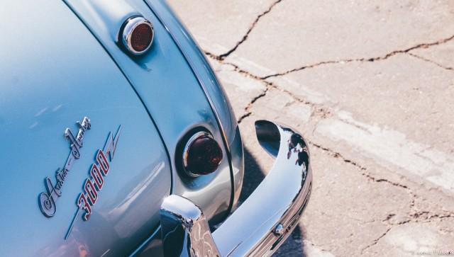 Austin-Healey 3000 rear