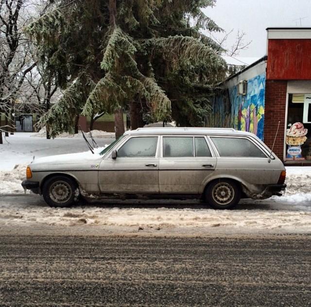 W124 Mercedes Benz Wagon