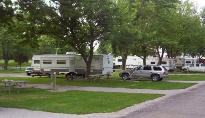 Cedarlane RV Park, picture of RV camp sites at Cedarlane RV park