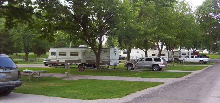 Cedarlane RV Park, picture of RV camp sites at Cedarlane RV park
