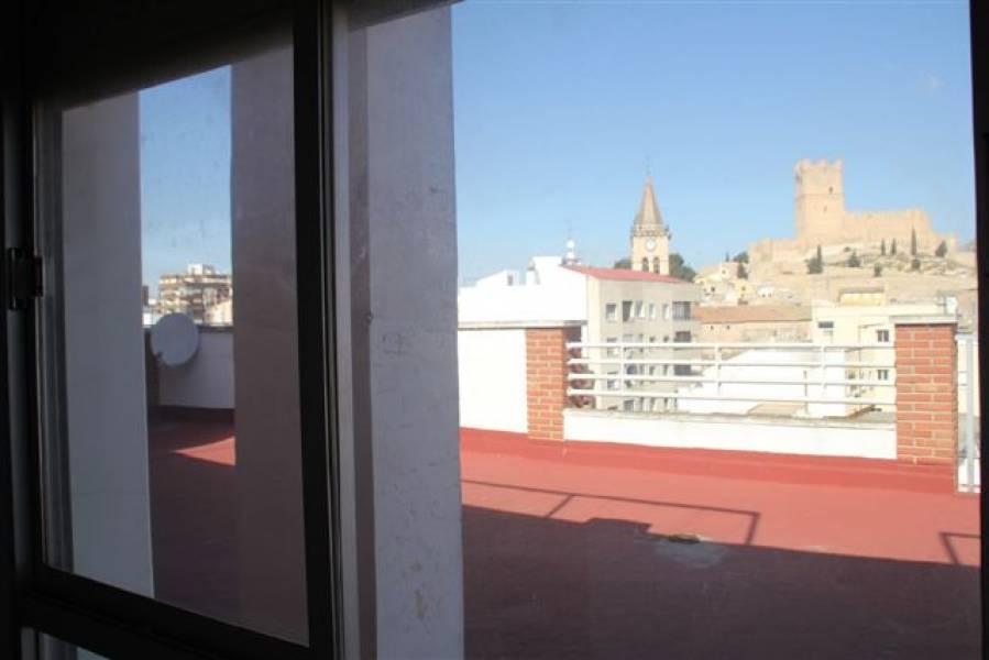Ático en Villena con fabulosas vistas...pincha en la foto para saber más...