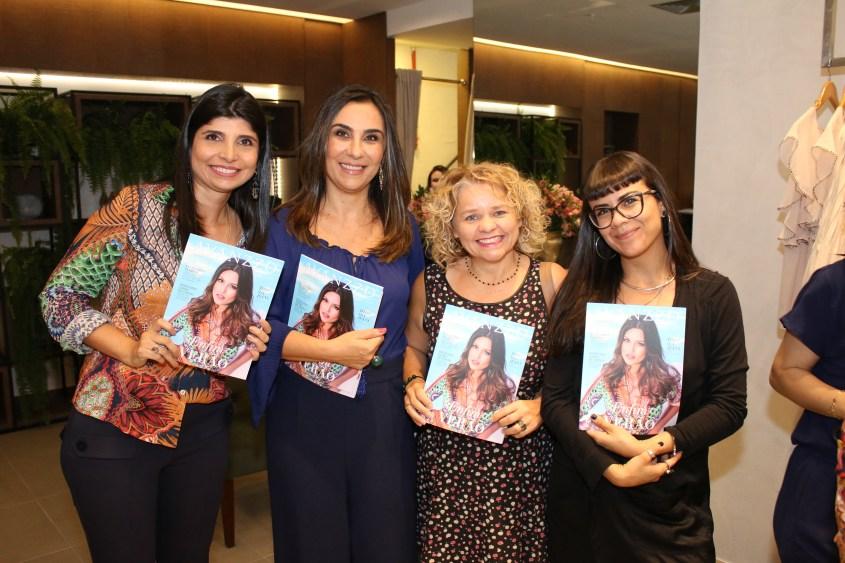 Renata Cotrim, Daniella Naegele, Chica Magalhães e Fernanda Oliveira
