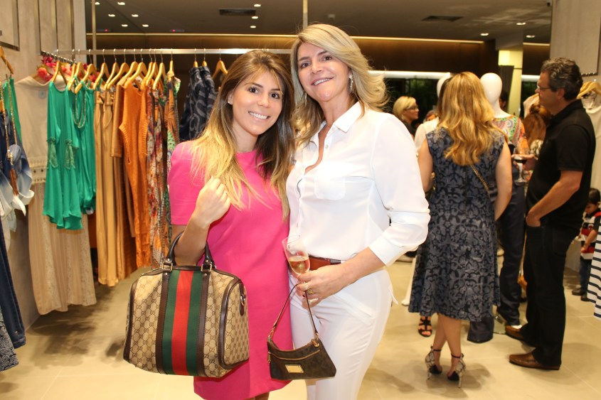 Andressa Biage e Claudia Mustafa