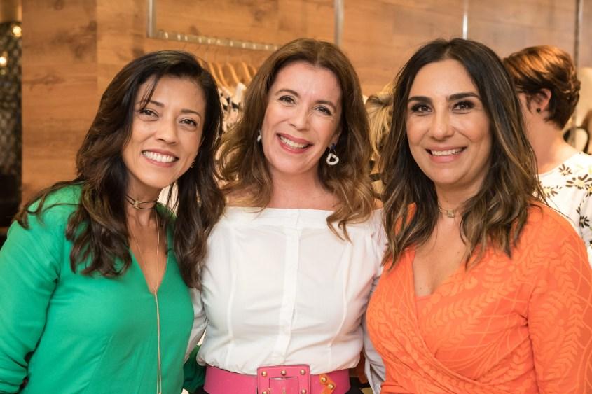 Silvia Badra,, Maria Thereza Laudares e Daniella Naegele