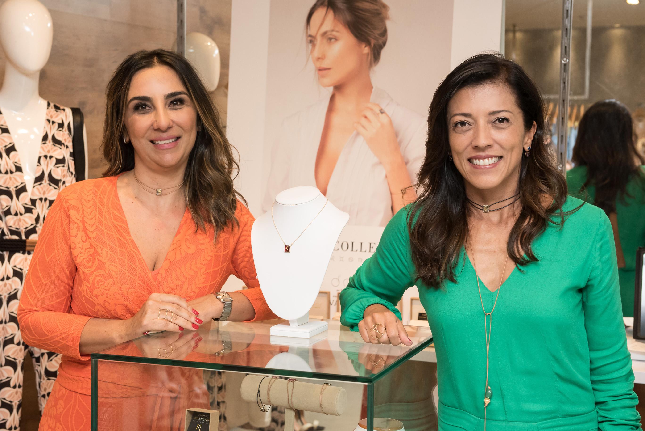Daniella Naegele e Silvia Badra