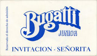 Sábado 25 - Revive Bugatti Junior en el barrio.
