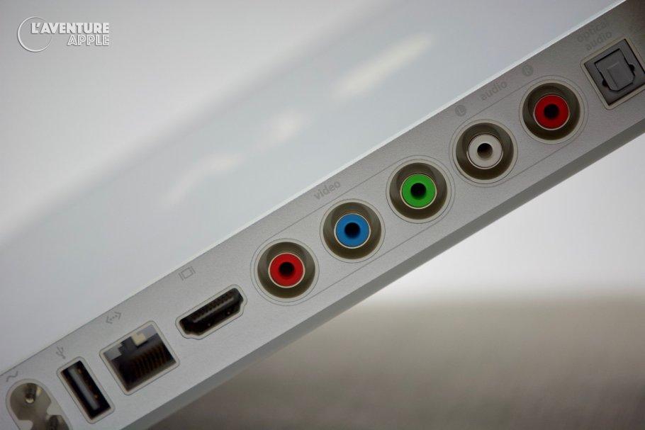 Apple , Les ports de l'Apple TV
