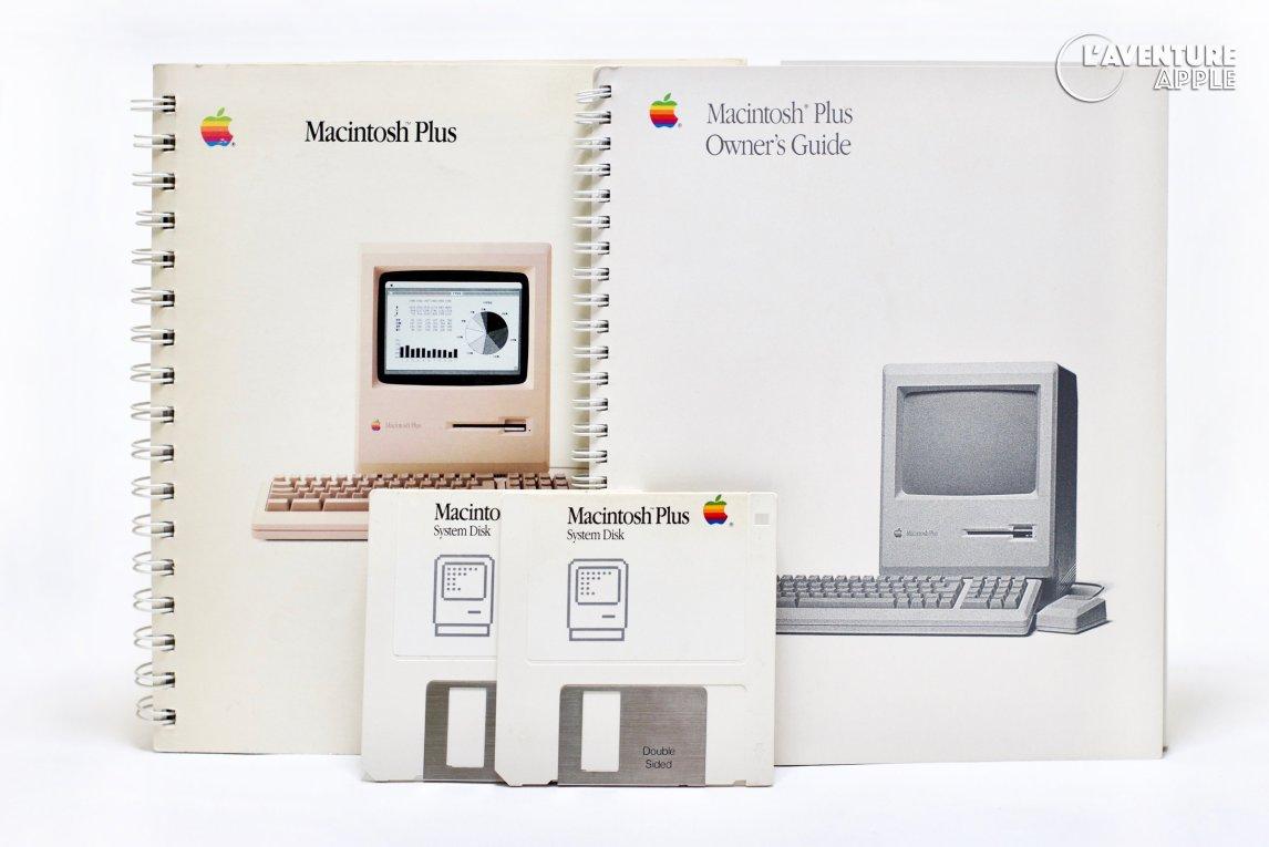 Apple Macintosh Plus owner's guides 1986 / 1988