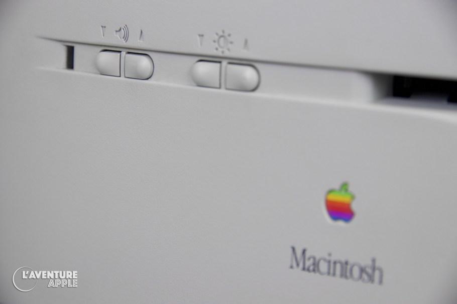 Apple Macintosh Color Classic buttons