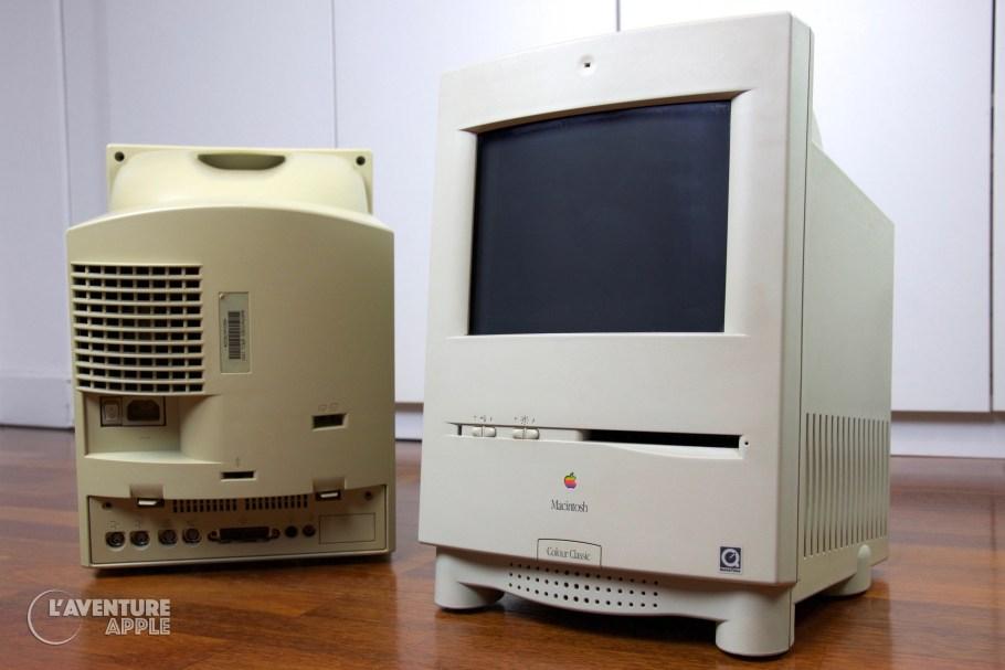 Blanchir le plastique du Macintosh, jauni par le soleil