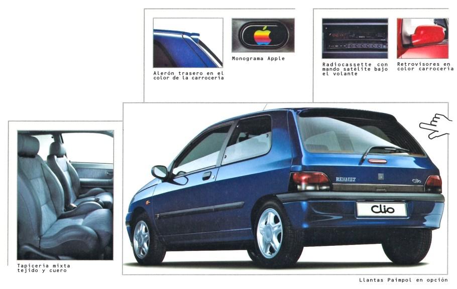 Renault Clio Apple JASP publicité