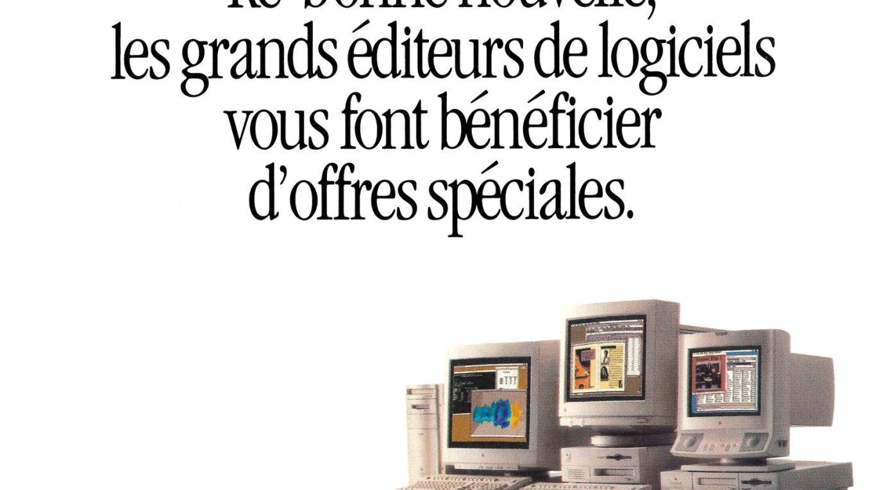 Publicité Apple Logiciels optimisés Power Macintosh