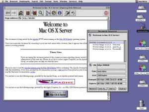 Navigateur Omniweb Mac OS X Server
