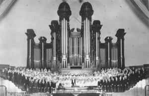 Le choeur du tabernacle mormon et son orgue