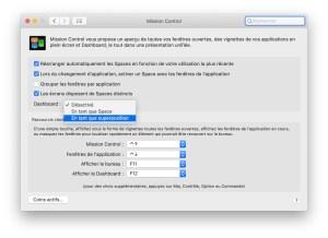 Apple Macintosh Mission Control Dashboard