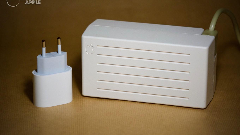iPhone 11 pro power adapter vs Apple IIc