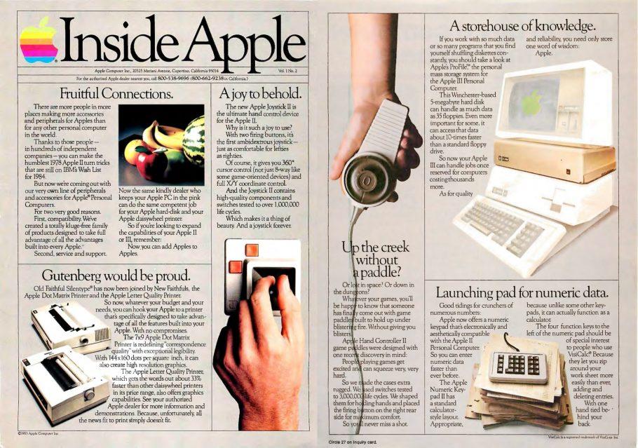 Inside Apple Avril 1983