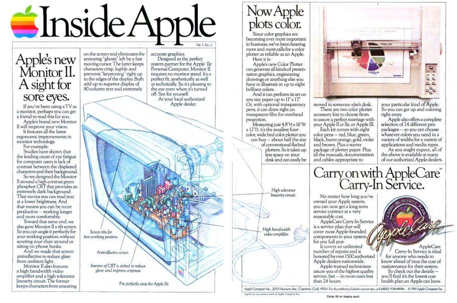 Inside Apple Octobre 1983