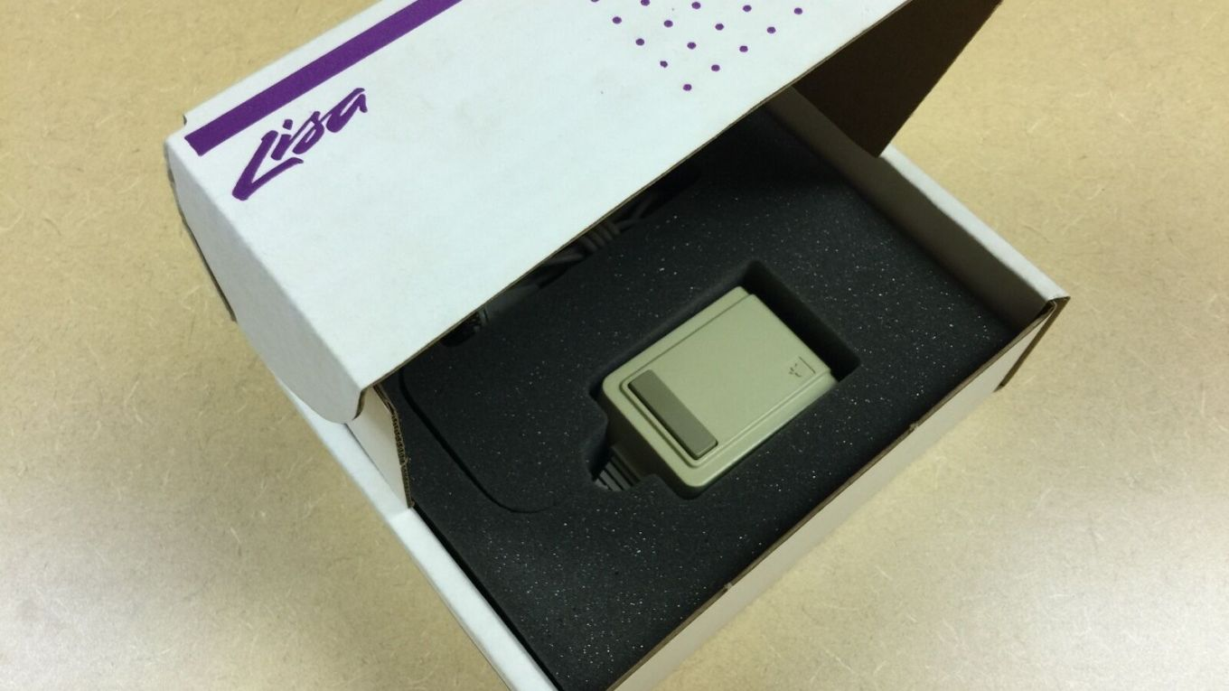 Apple Lisa Mouse in box