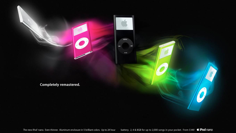 iPod nano Apple 2006 ad