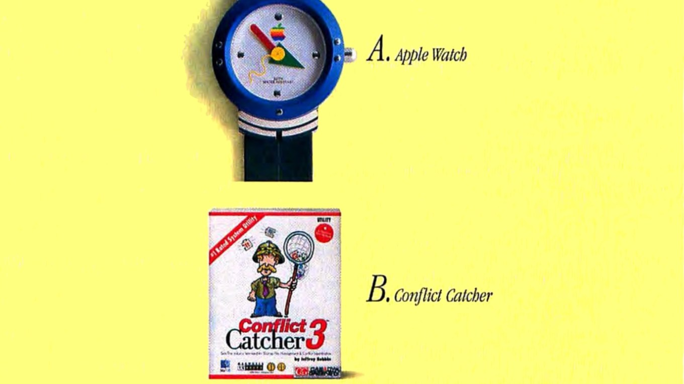 Apple Watch + System 7.5 gift