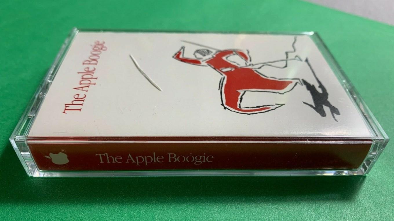 Apple boogie audio cassette