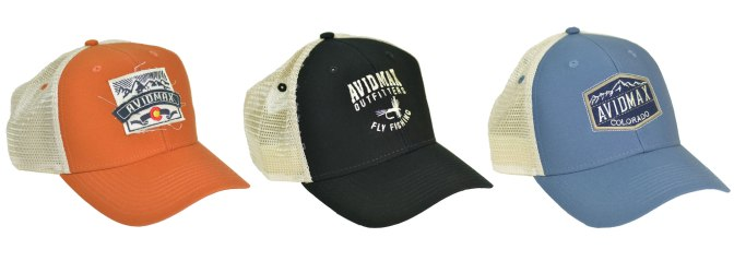 AvidMax Colorado fly fishing cap