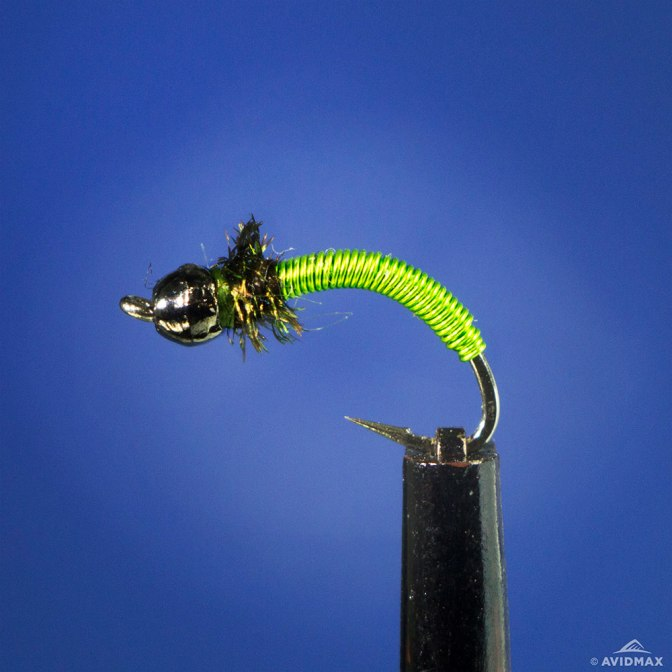 Learn to tie the Bead Head Brassie Fly with video instructions
