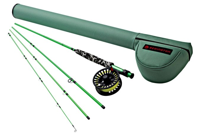 Redington Youth Minnow Combo Fly Rod Outfit highlights