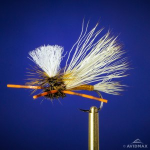 Learn to tie the PMX (Parachute Madam X) fly tying video