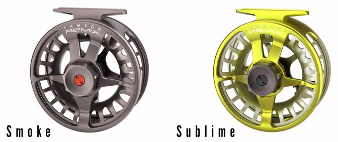 Waterworks-Lamson Remix Fly Reels | Smoke + Sublime
