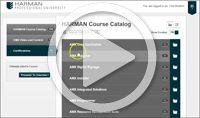 Echa un ojo a este vídeo sobre la Harman University Online