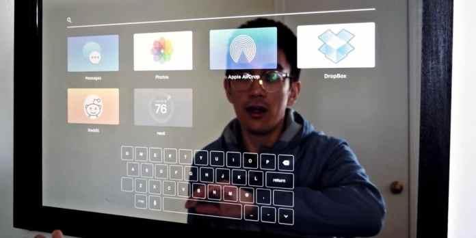 Pametno ogledalo - aplikacije i tastatura