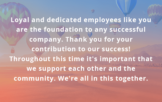 5 Heartfelt Messages To Support Your Employees During Covid 19