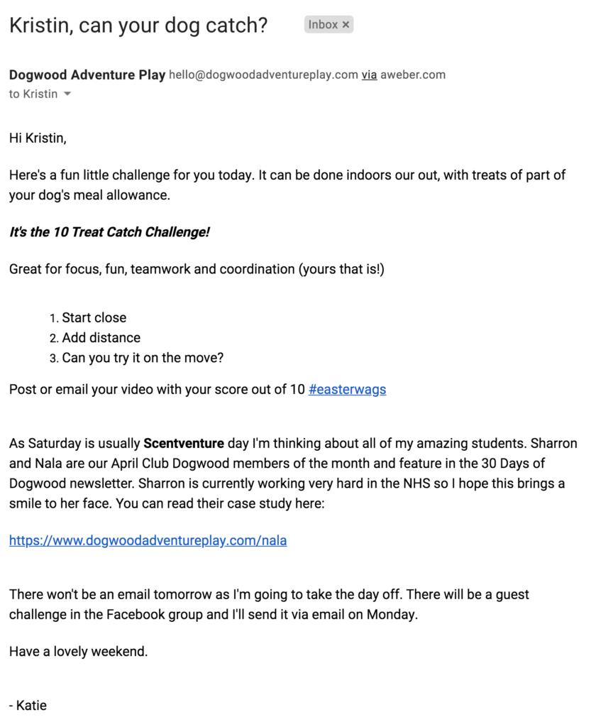 Dogwood email