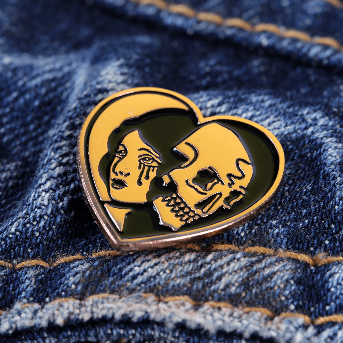 Enamel pin, enamel pins, South of Hell