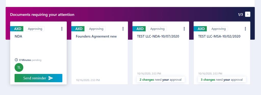 AXDRAFT Approval Status