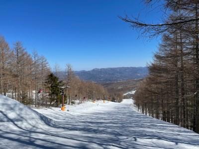 八千穂高原スキー場の旅。久々の好天のハードコンディションを滑り尽くした話。