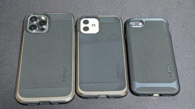 iPhoneはケースとガラスフィルムで保護したほうが良い話