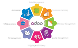 Odoo services - accounting, crm, hr, sales, invoicing, inventory