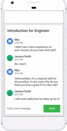 Facebook Chatbot with Complete Staffing solution