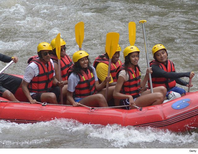obama-rafting-family-vacances