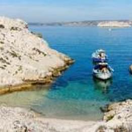 visite bateau et vélo électrique Marseille