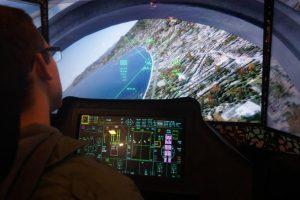 simulateur avion de chasse activité insolite lille