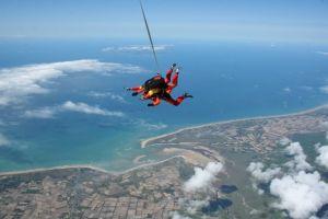 Activité insolite à Nantes saut en parachute